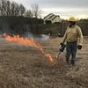 Jackson McDowell at Zack site prep burn 2017
