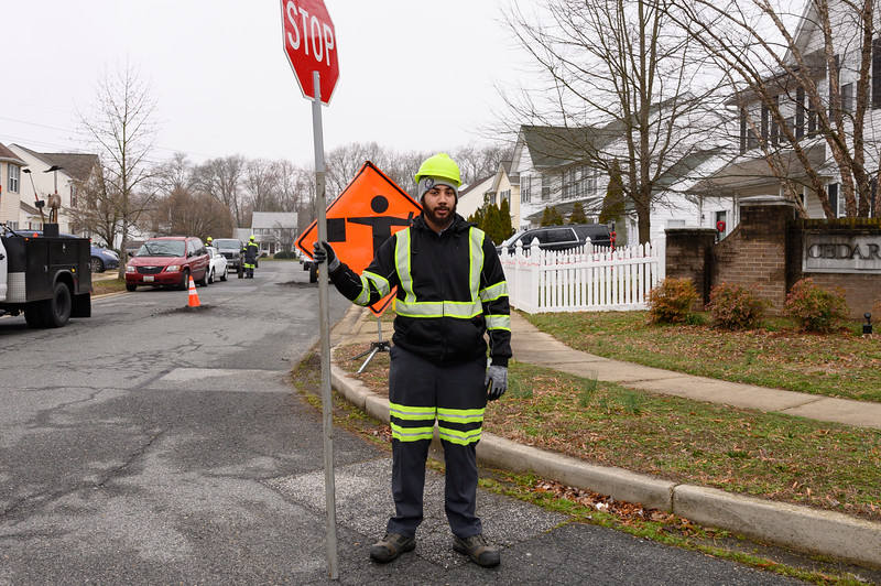 Different departments in Public Works/Services are showing their pride for their job.