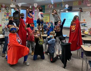 Tim Jaeck_Kelly and Students_Superhero