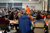 DAVID LACHANCE — BENNINGTON BANNER<br /> A crowd fills the cafeteria at the Mount Anthony Union Middle School.