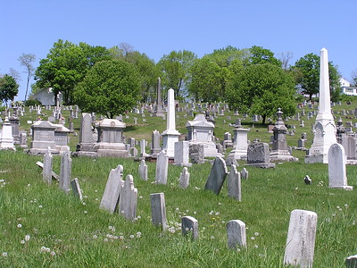 The east coast has more than its share of cemeteries.
