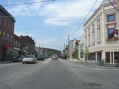 It's Hawley, Pennsylvania.