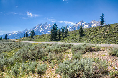 Inner Loop Road, Grand Teton National Park, Wyoming, USA