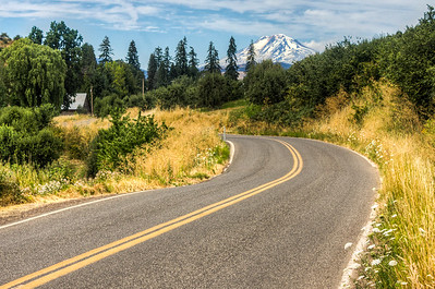 Hood River (Mt Rainier) Oregon, USA
