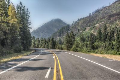 Route 2, Stevens Pass, Washington, USA