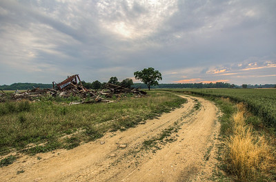 Kent County Broken Down Barn Delaware