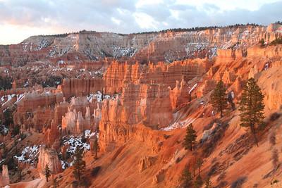 31 марта - 1 апреля 2013. Red Canyon. Брайс-каньон.  Штат Юта.