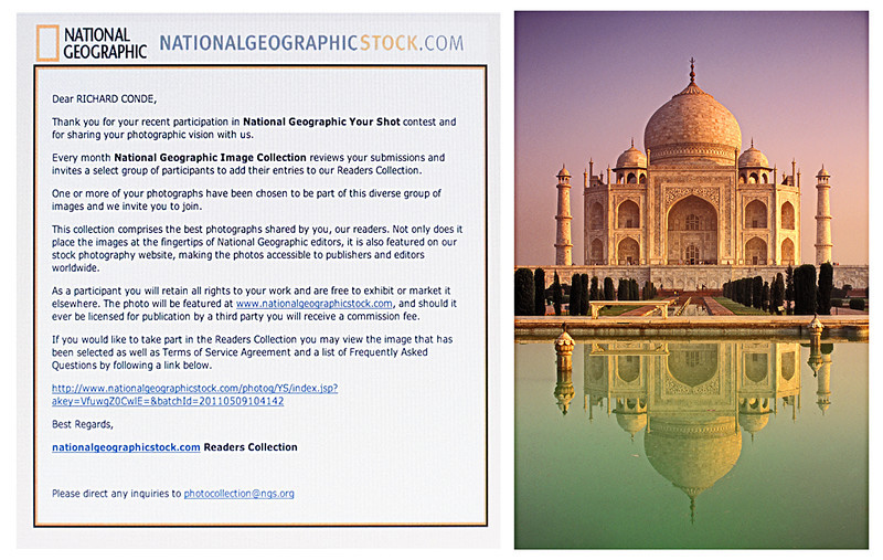 TAJ MAHAL / NATIONAL GEOGRAPHIC PERMANENT STOCK COLLECTION 2011