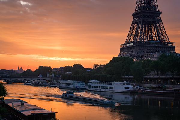 Un matin parisien