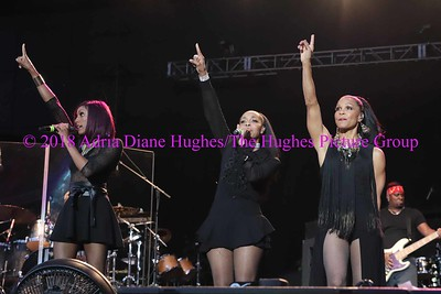 En Vogue live with their fans at the Dell Music Center