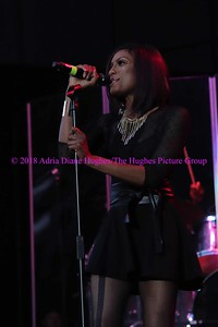 Rhona Bennett of En Vogue performs live at the Dell Music Center