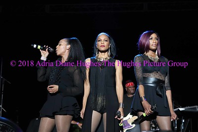 En Vogue live at the Dell Music Center in Philadelphia