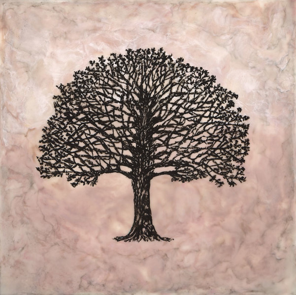 Encaustic Tree  12x12 (SOLD)