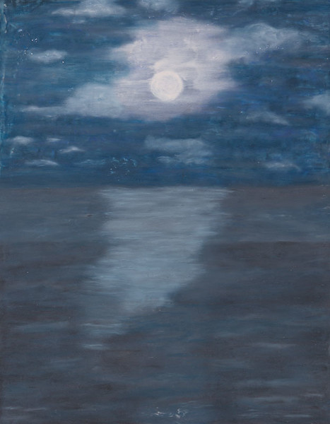 Moonlit Night   14x11