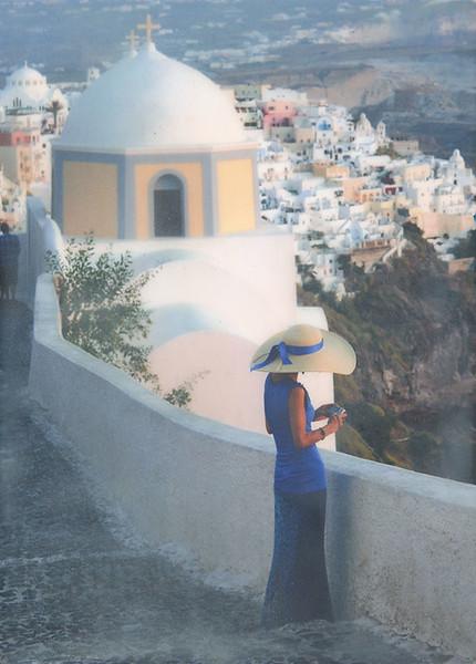 Grecian Blue 5x7