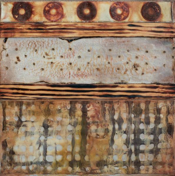 Textural Journey III, 16x16