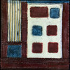 Quilt Series-Bee Work- Americana #1, 16x16