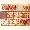 """Hive Hieroglyphs,  65 x 19"""""""