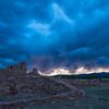 Storm At Abo Ruins, New Mexico