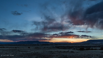 Sunset at Ghost Ranch,  Abiquiu  NM