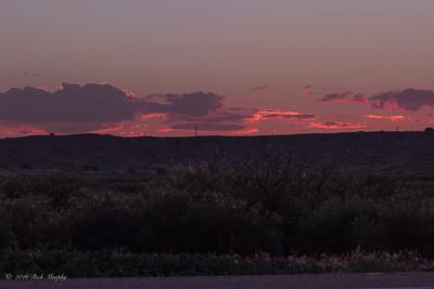 Pink Delight !  Sunset Bernardo NM