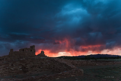 Spirit Fire, Abo Ruins New Mexico