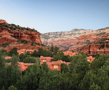 Casita view of Boynton Canyon Enchantment Resort Sedona, Arizona