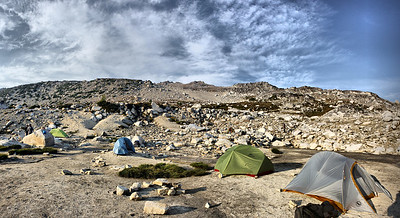 5 Tents - August 2015 Enchantments