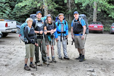 Start of Enchantments Hike - All nice and clean  - August 2015