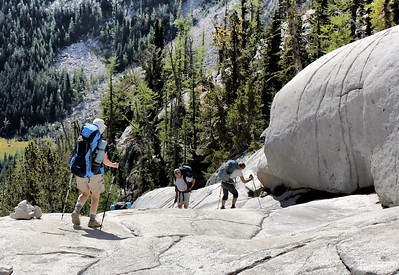 Staples and the exit from The Enchantments - August 2015