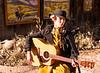 Esme Playing Guitar, Canyon Road, Santa Fe, NM