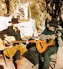 Esme and David on Guitar, Canyon Road, Santa Fe, NM
