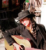 Esme Singing, Canyon Road, Santa Fe, NM