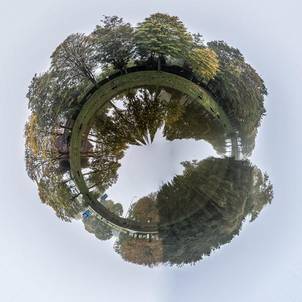 Little planet Ieper, Belgium