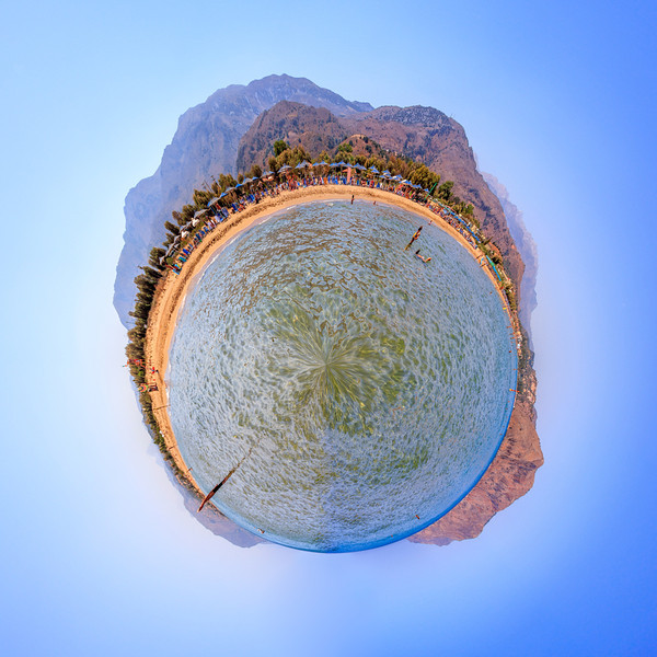 Little planet Georgioupoli beach, Crete