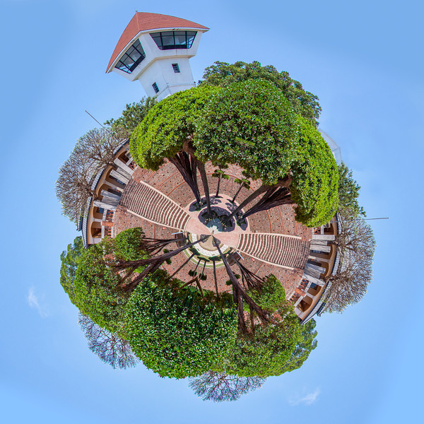 Little planet An Ping fort, Tainan, Taiwan