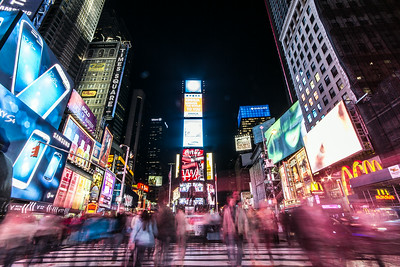 Time Square NYC by night (and by Wen ;-)