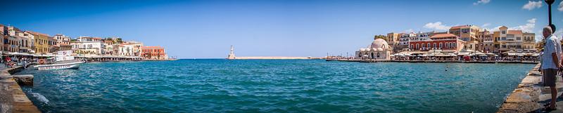 Chania port, Crete