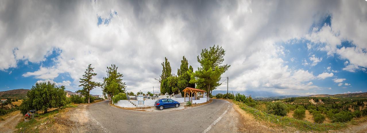 Kalamitsi Alexandrou cemetery (Crete)