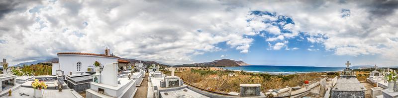 Georgioupoli cemetery, Crete