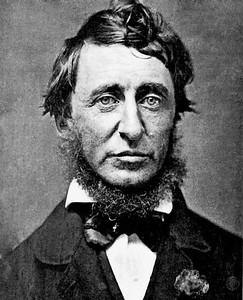Portrait of Henry David Thoreau