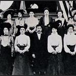 Gathering of Japanese Buddhist Community at Buddhist Church (Fresno, CA)