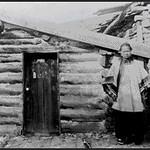 Chinese Women Standing Next to Chinese Temple (Virginia City, Montana)