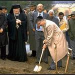 Rabbi Breaks Ground for Islamic Center (Sharon, MA)