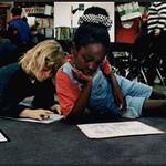 Students Reading in a Public School Classroom (Dallas, TX)