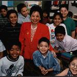 A Public School Teacher and Her Class (Dallas, TX)