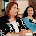 Ines Talamantez and Selena Fox at Conference on Women in Interfaith Dialogue (Toronto, CA)