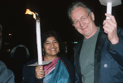 Candle Bearers at the 1993 Parliament of the World's Religions (Chicago, IL)