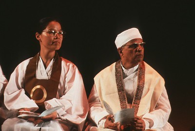 Panelists at the 1993 Parliament of the World's Religions (Chicago, IL)