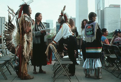 Native American Leaders at the 1993 Parliament of the World's Religions (Chicago, IL)